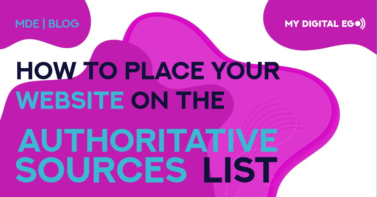 Authoritative Sources