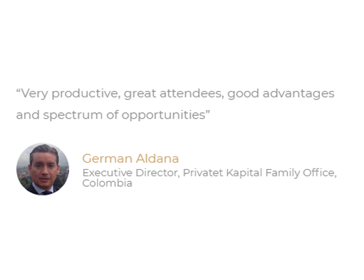 Latam Family Office Summit Testimonial 4