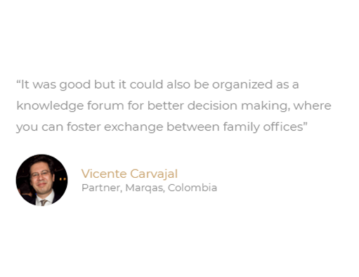 Latam Family Office Summit Testimonial 5
