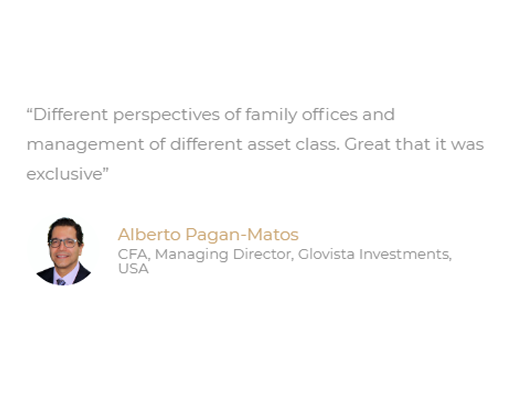 Latam Family Office Summit Testimonial 7