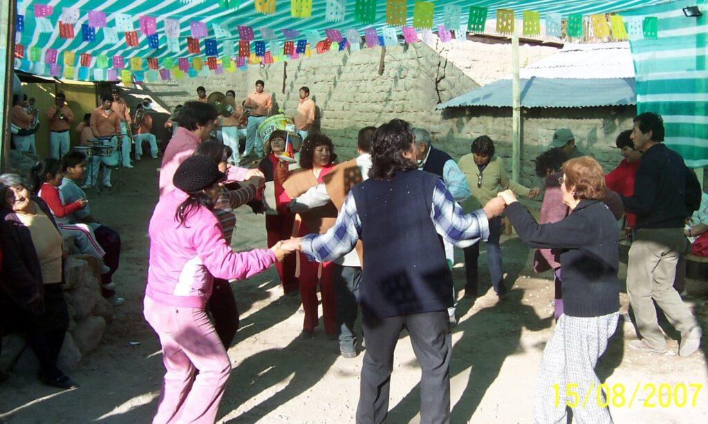 Fiesta in Parinacota, Chile | Creative Spanish tourism translation services