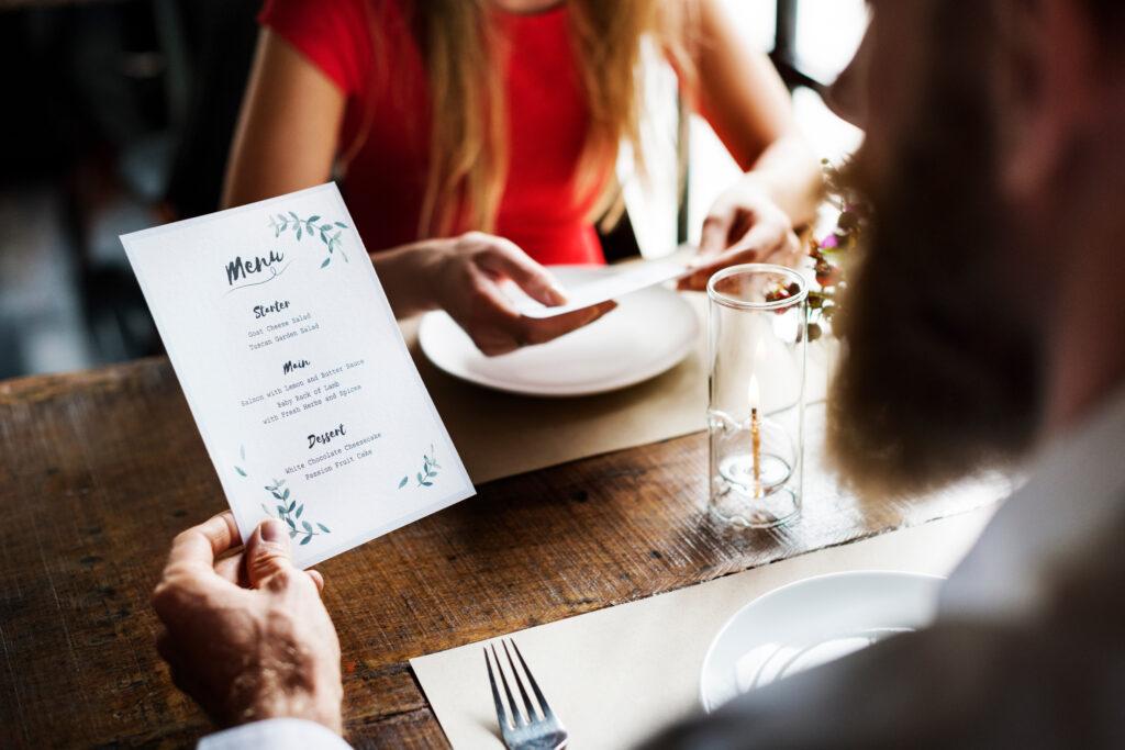Reading the menu at the restaurant | Reading the menu | Professional menu translation services