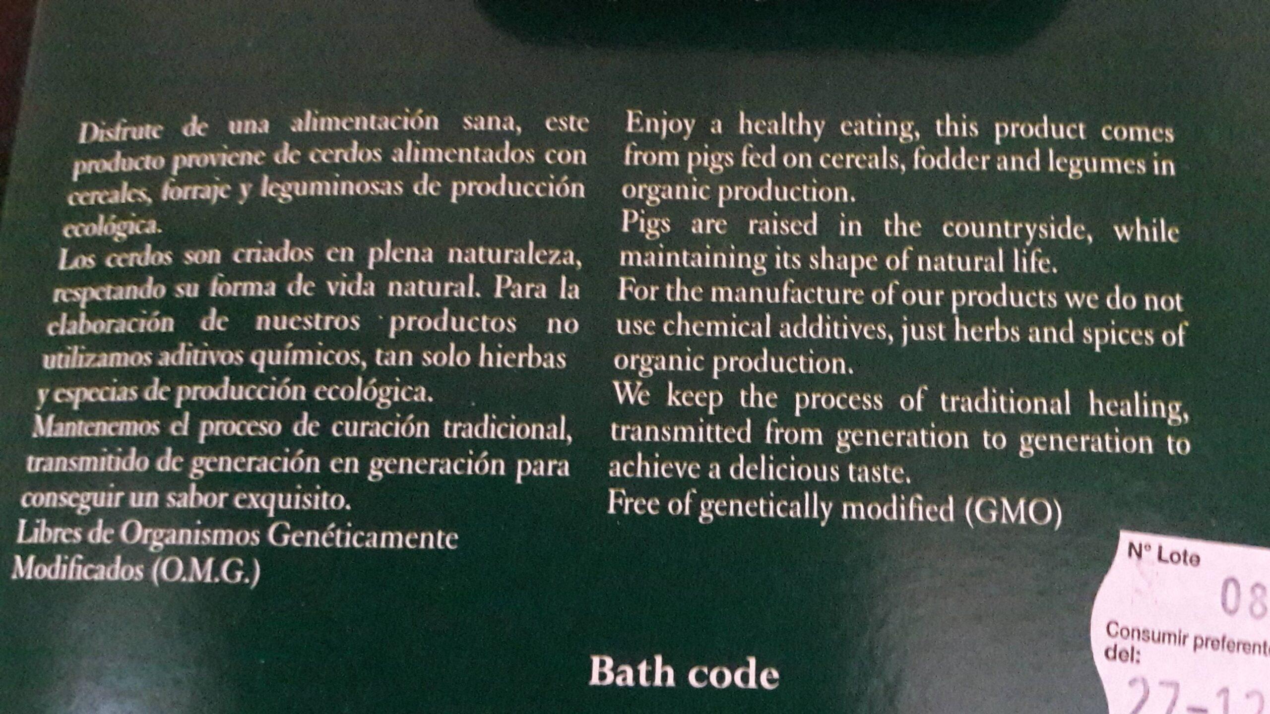 Food label translation services | translation on organic product packaging