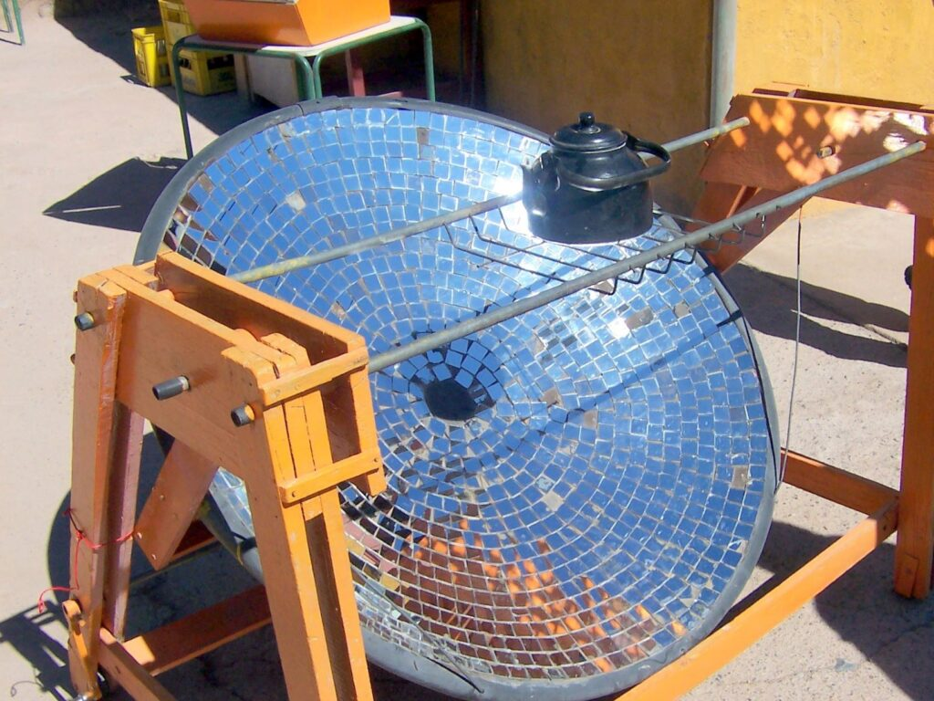 Professional food and drink translation | solar-cooker-Chile