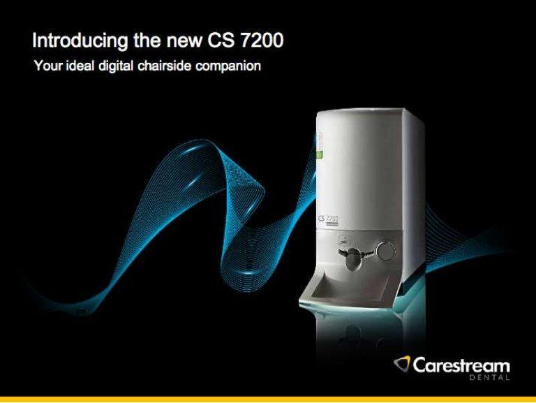 Carestream 7200 Digital Imaging plate sysytem