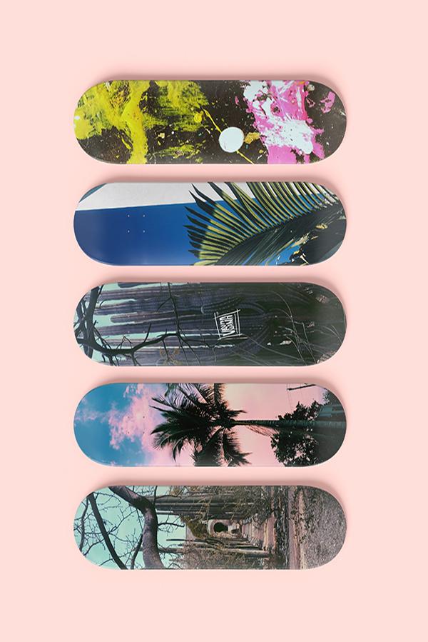 different skateboard designs