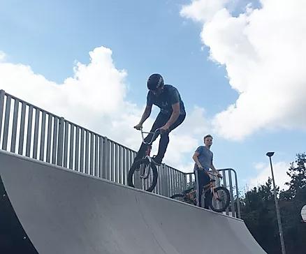 bmx ramps