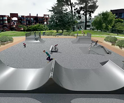proposed steel ramps design
