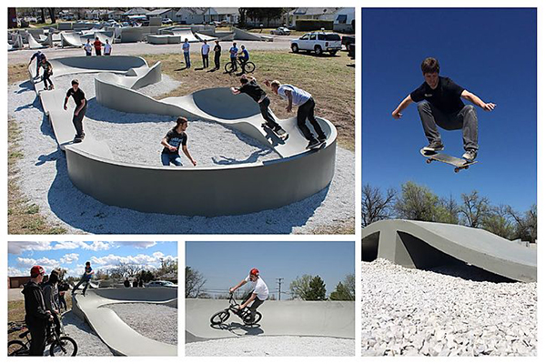 new skateboarding installation equipment