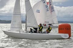 Saturday 3 October 2020 J70 & Etchells Southern Area Championship Royal Thames YC Cowes Photo: Rick Tomlinson