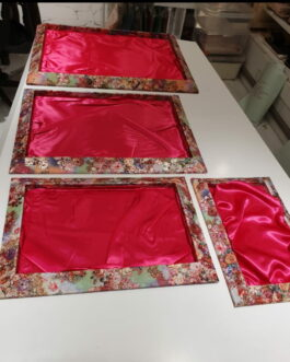 Floral Trays (Pink Colour)