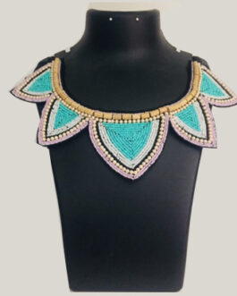 Beaded necklaces-Beauty lotus