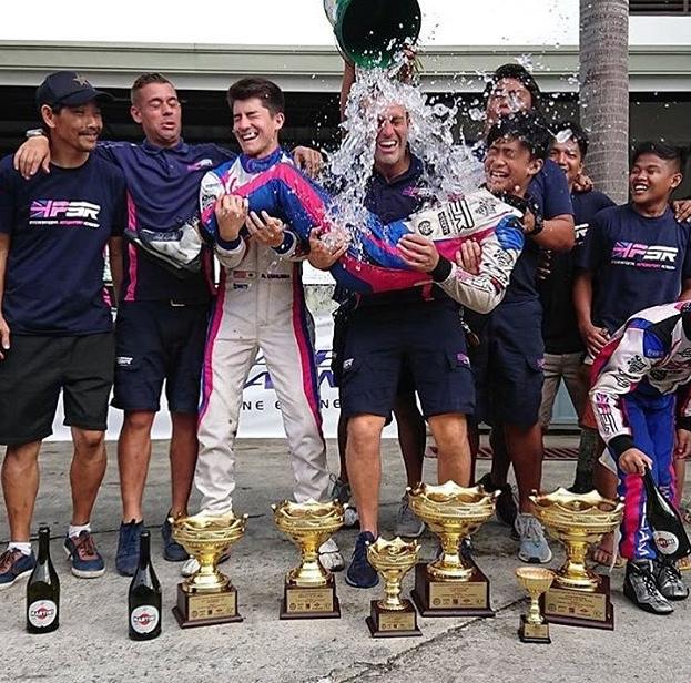 PSR Drivers Celebrating