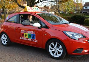 Book a driving lesson in Clacton