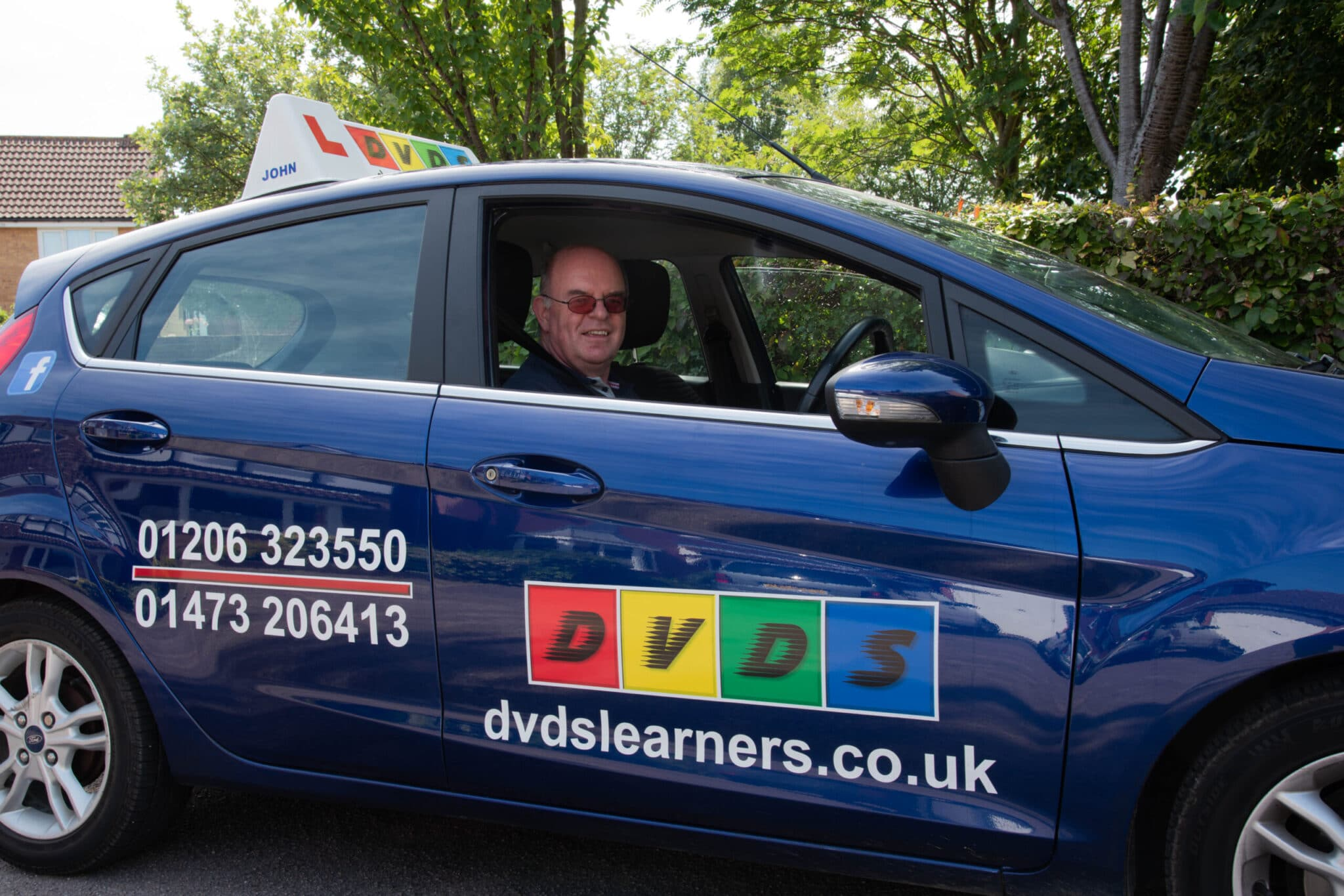Driving lessons in Ipswich.