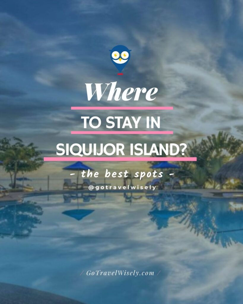 list of best hotels and resorts in Siquijor