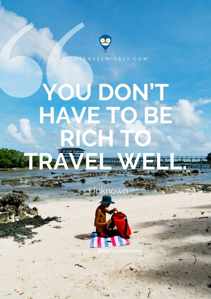 Travel quotes about life-changing travels