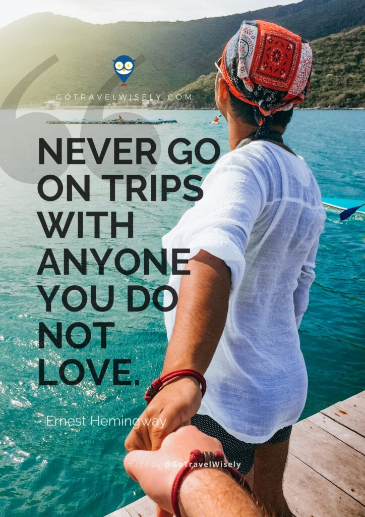 Best travel quote for lovers