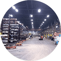 Niagara LaSalle Steel Corp. - Energy Savings with Efficient LED Lighting - Verde Solutions