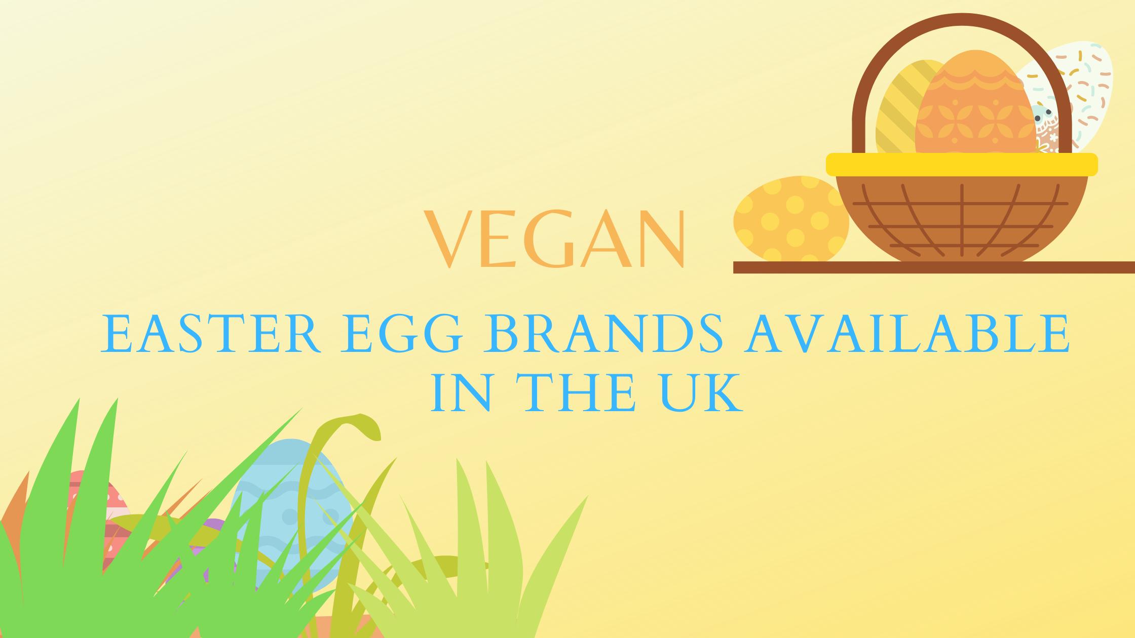 vegan easter egg brands uk