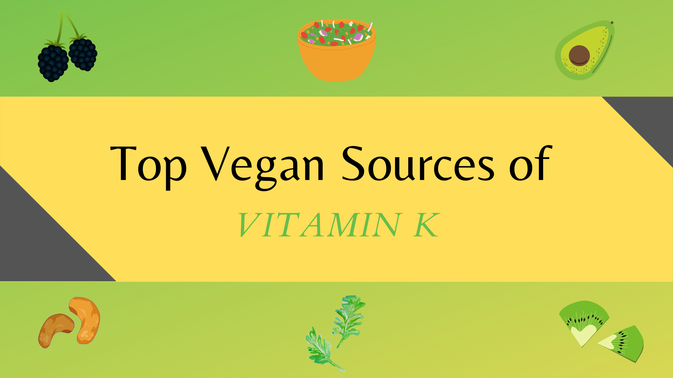 vitamin k rich vegan food sources