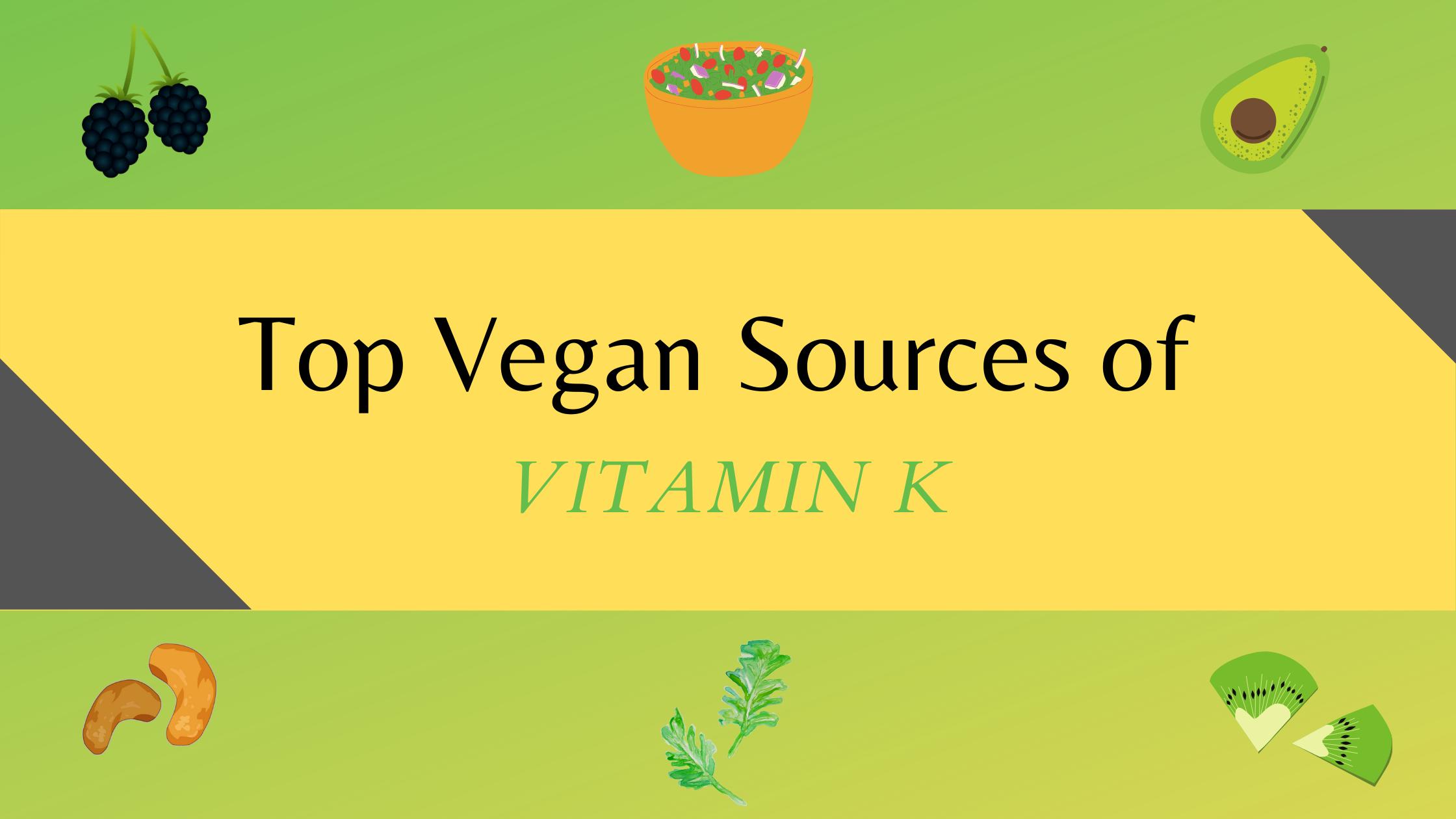 vitamin k rich vegan food sources