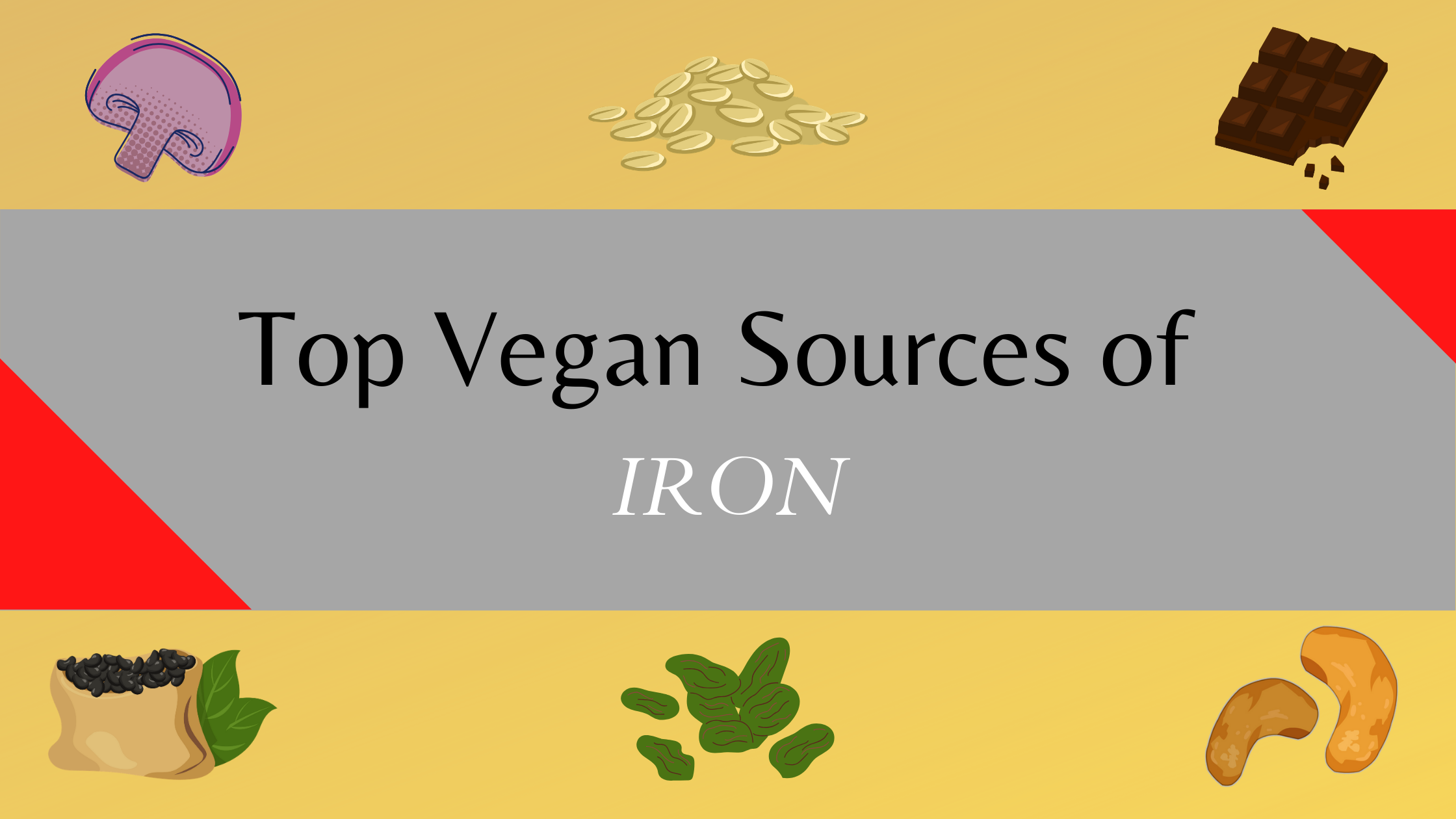 iron rich vegan food sources
