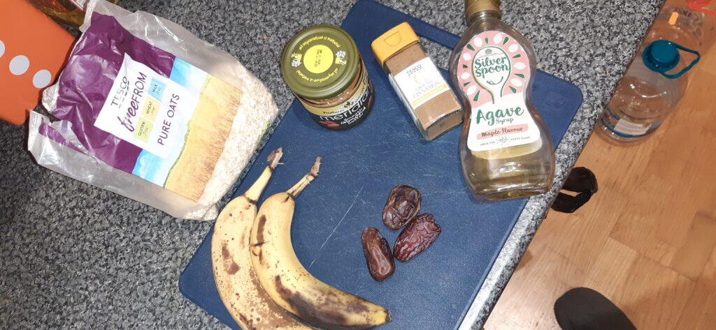 vegan breakfast bar ingredients
