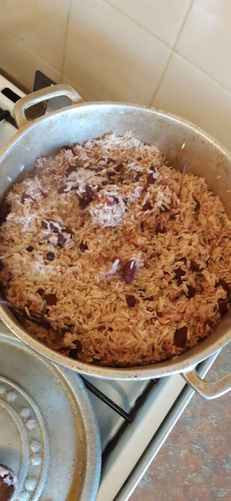veganised jamaican rice and peas recipe