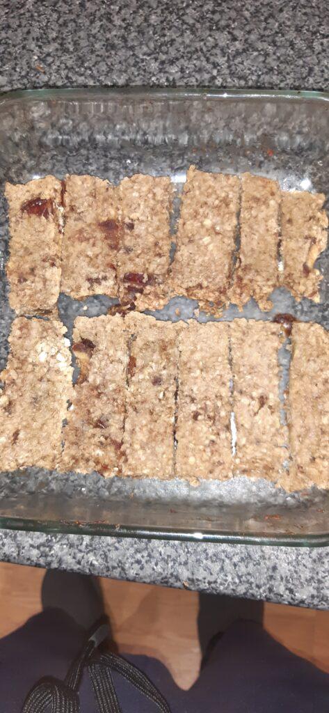 breakfast granola bars vegan