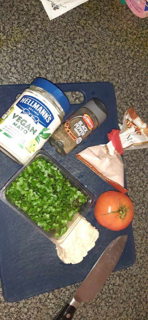 vegan egg mayo recipe ingredients