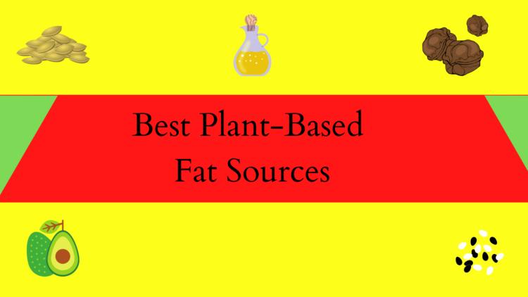 vegan fat sources