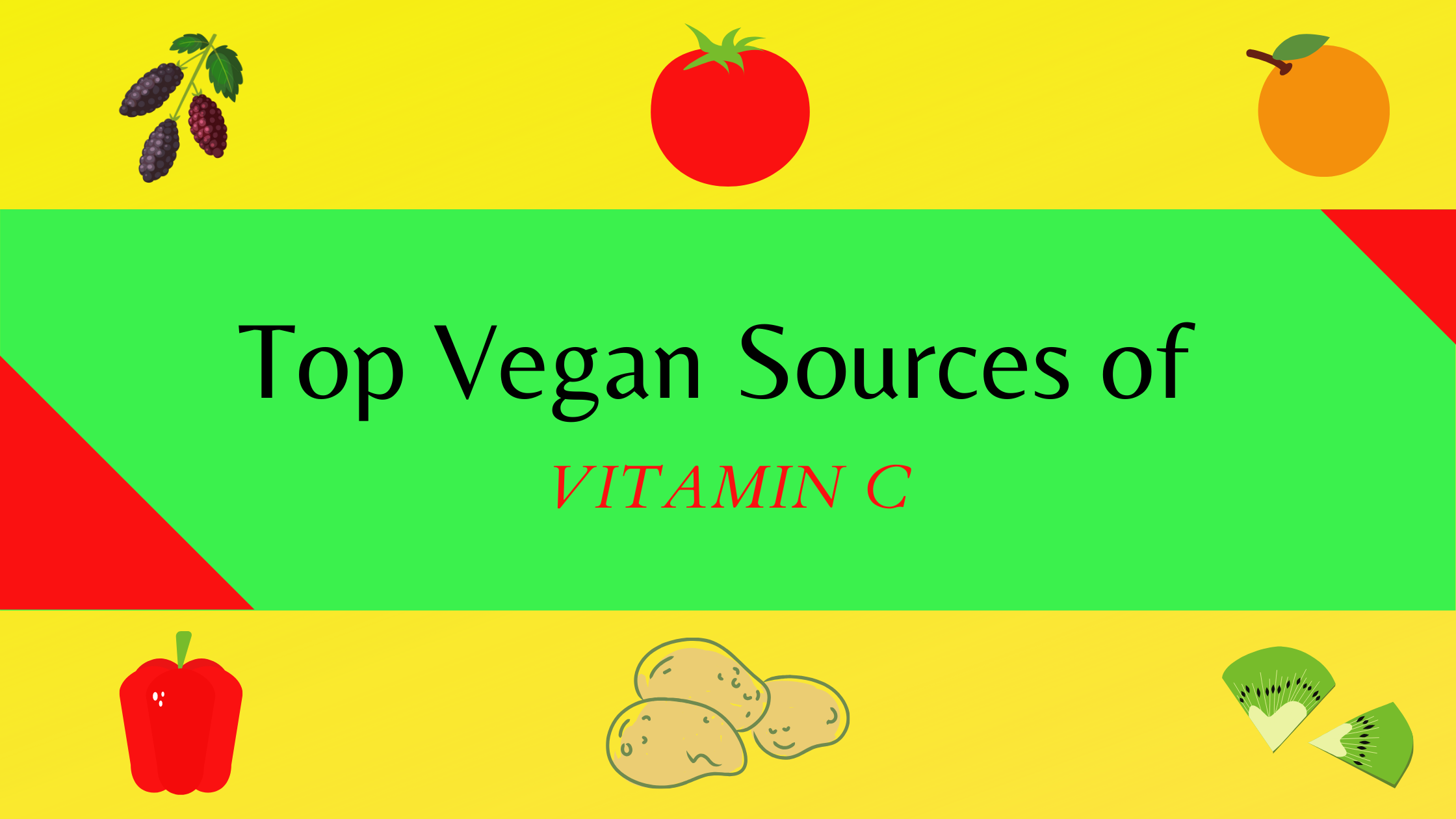 Vitamin C rich food sources