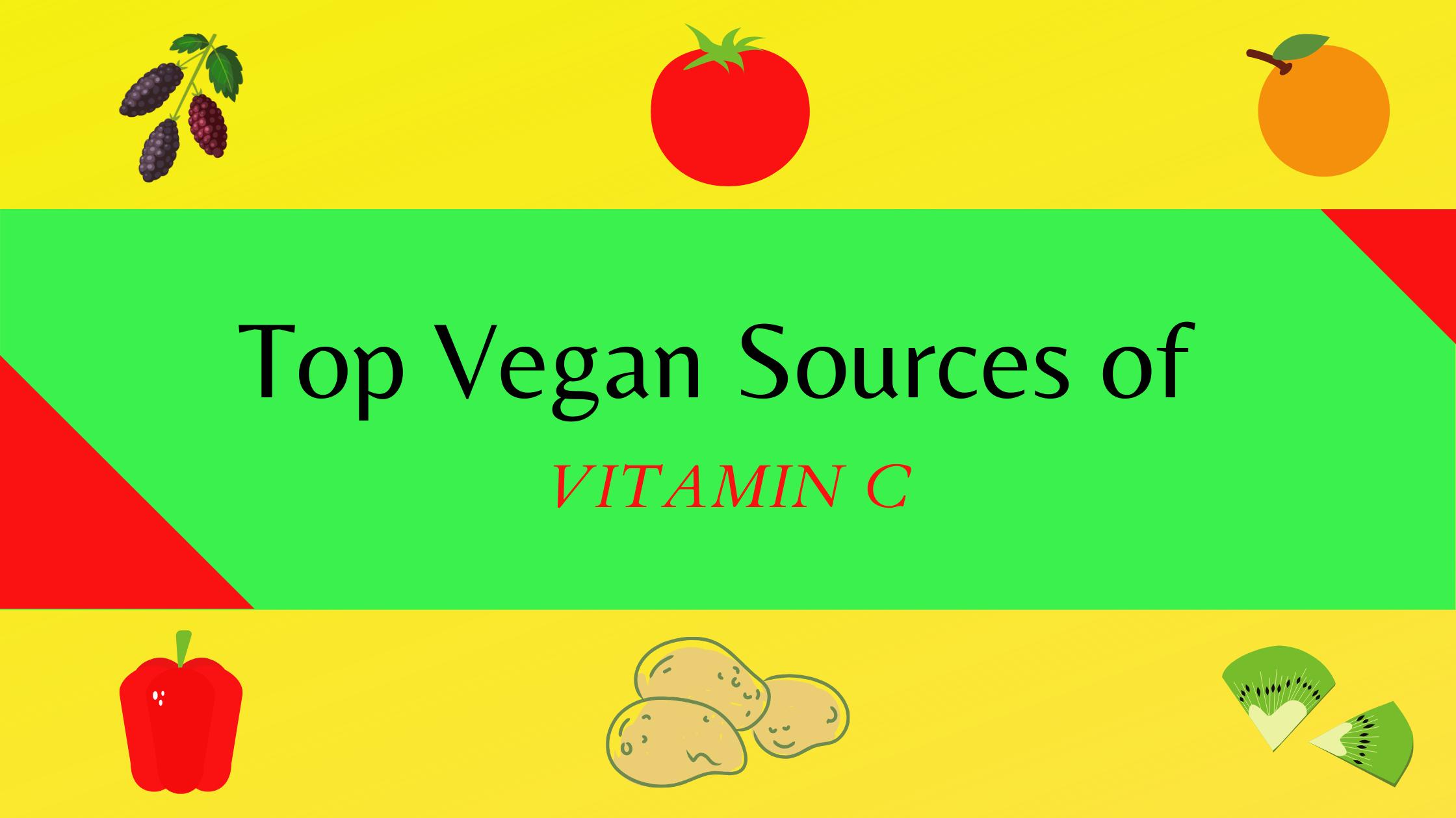 Vitamin C rich food sources