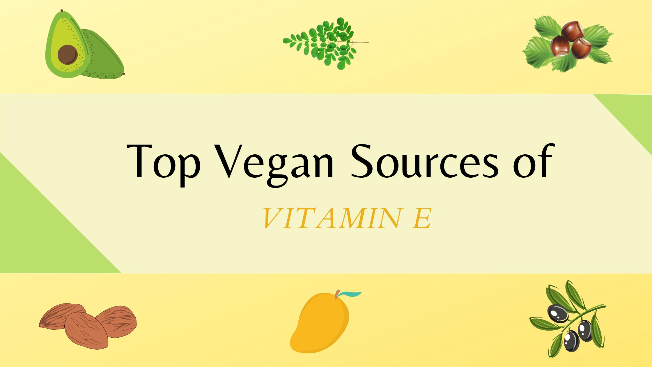 vitamin e rich vegan food sources