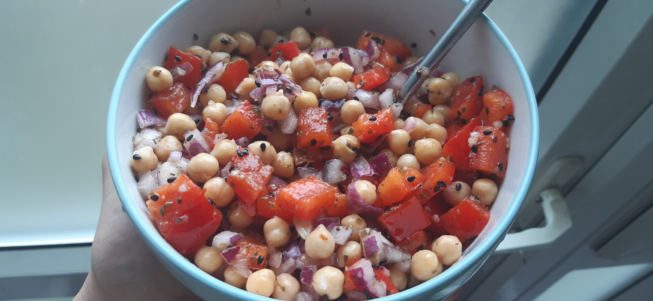 chickpea salad vegan