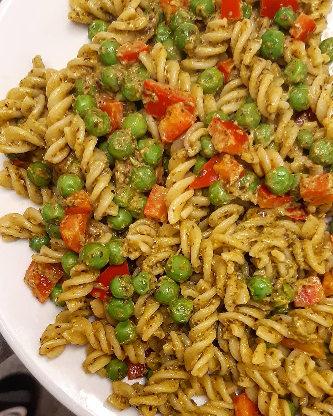 easy vegan 3 p pasta
