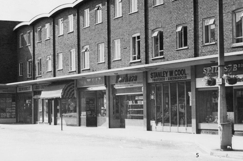 00110-High-st.-Nos-14-28-Dewhurst-to-Stiles-1960s - High Street Gallery