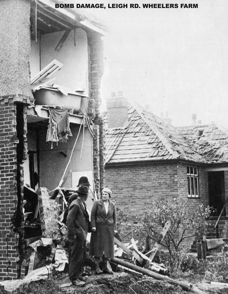 00227-WW2-Leigh-Rd-bomb-1944- WW2 Gallery