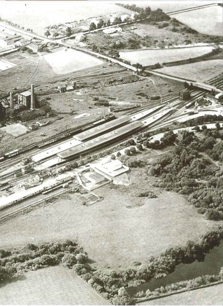 00233-station1936- - Station Road & Ironworks