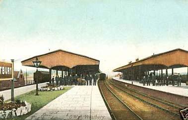 00248-station-early-1900s - Station Road & Ironworks