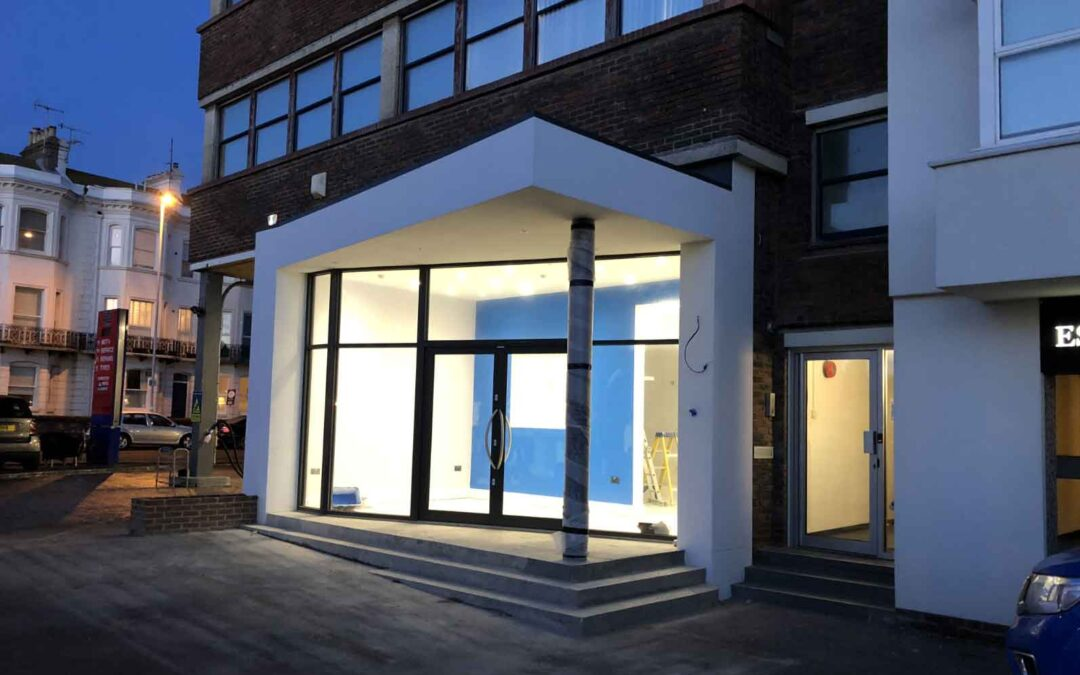 Commercial Ground Floor Renovation and Front Extension