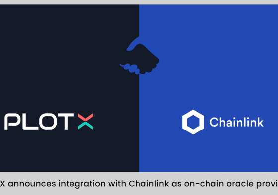 PlotX Integrates Chainlink Price Feeds for BTC and ETH USD Pairs