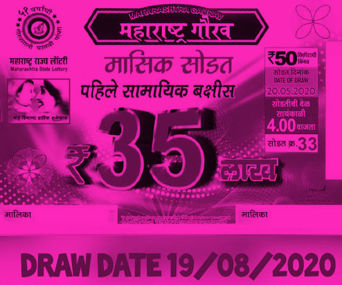 Gaurav Monthly Lottery Result