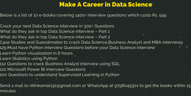 Data Science Live Classes