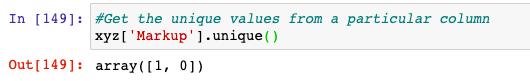unique in Python