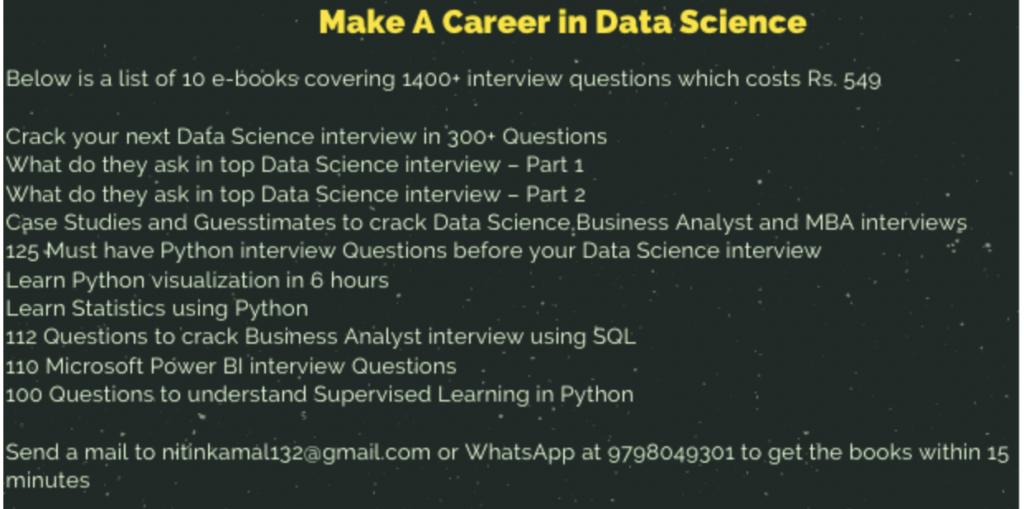 SQL Quiz for Data Science