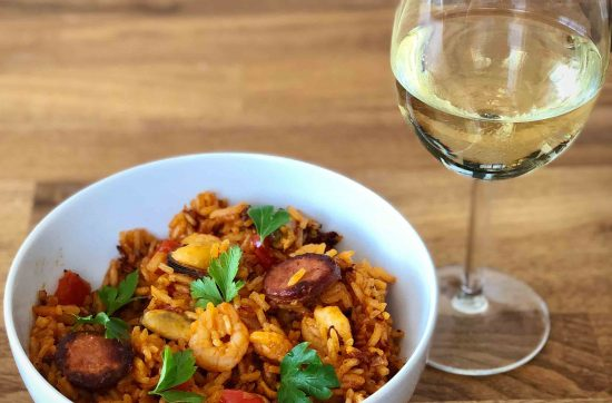 Spanish Chorizo and Chicken Rice