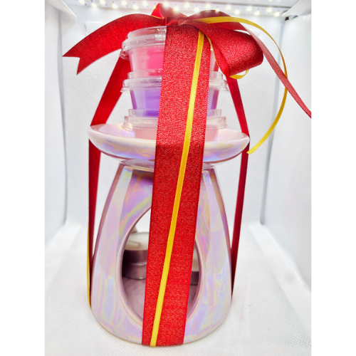 Wax Burner Deli Pot Gift Set