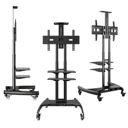 Onkron mobile tv cart ts1562 - Black